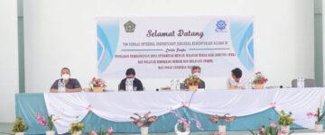 Penilaian Internal Zona Integritas Oleh Inspektorat Kementerian Agama RI di Man IC Siak